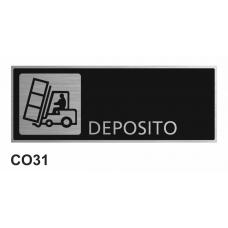 Cartel depósito
