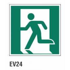 Cartel salida de emergencias