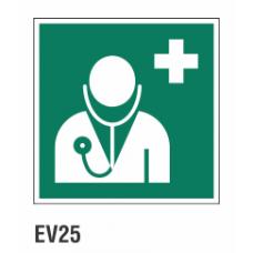 Cartel médico de emergencia