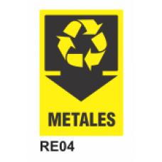 Cartel metales