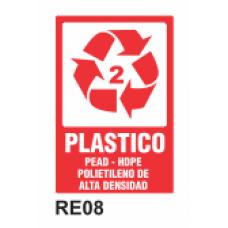 Cartel plástico 2