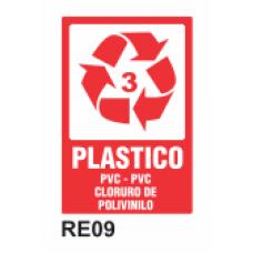 Cartel plástico 3