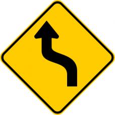 Cartel curva en S