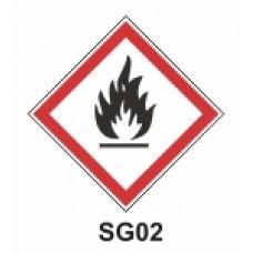 Etiqueta explosivo SAG