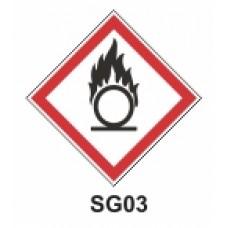 Etiqueta comburentes SAG