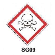 Etiqueta tóxicos SAG